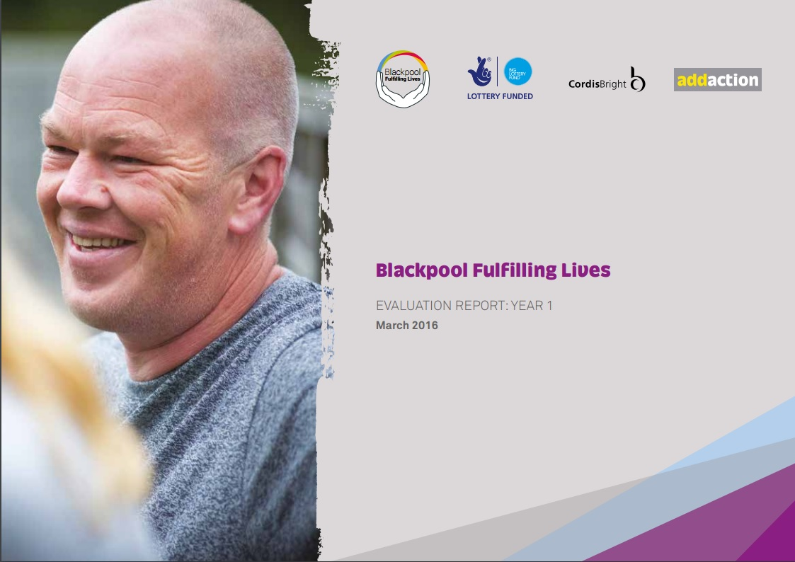 Evaluation of Blackpool Fulfilling Lives: year 1 report