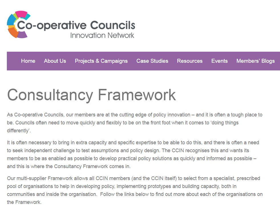 Co-operative Councils Innovation Network