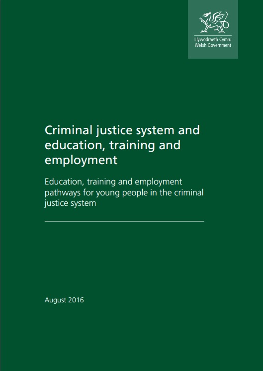 Education, Training and Employment pathways for young people involved the criminal justice system