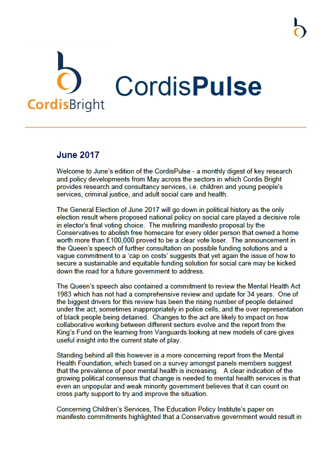 Cordis Pulse: June 2017