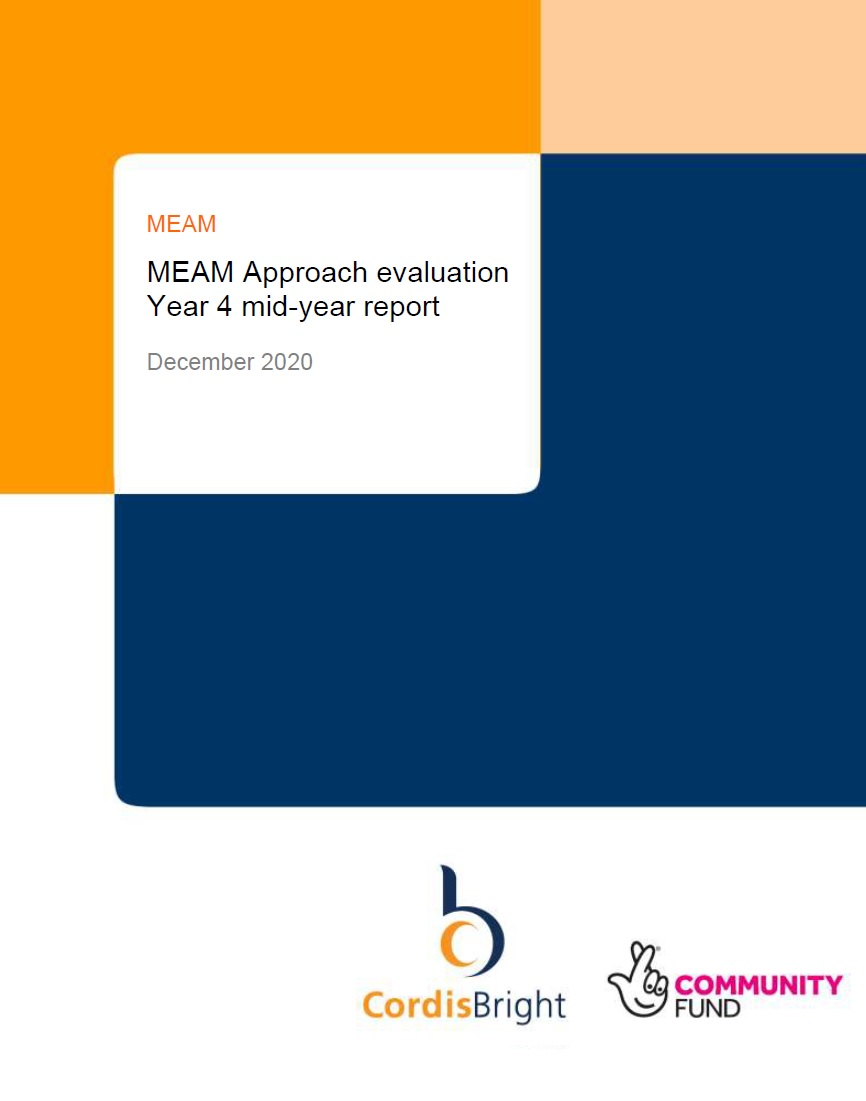 MEAM Approach evaluation Year 4 mid-year report