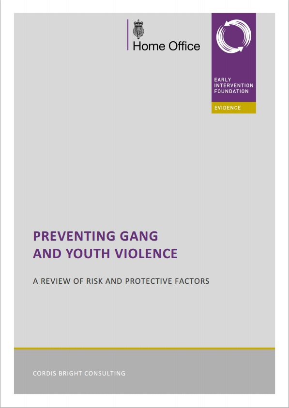 Preventing gang and youth violence