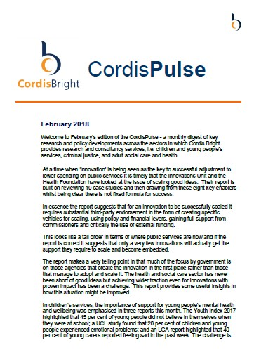 Cordis Pulse: February 2018