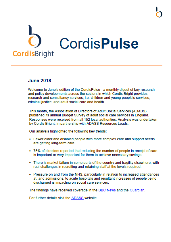 Cordis Pulse: June 2018